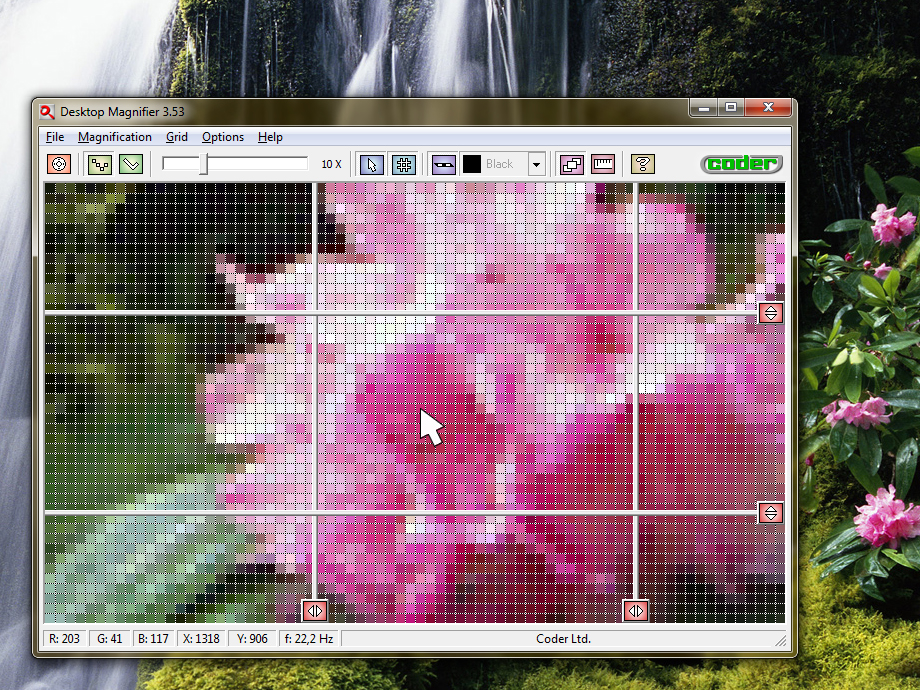 Click to view Desktop Magnifier 3.28 screenshot